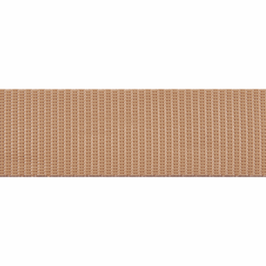 Webbing Tape 30mm Polypropylene in Beige