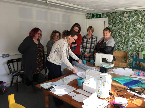 Learn to Sew starts Tues 11th May 10.30am (3 weeks)