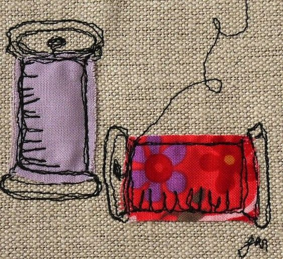 Free Motion Embroidery Tues 29th June 10.30am-1pm