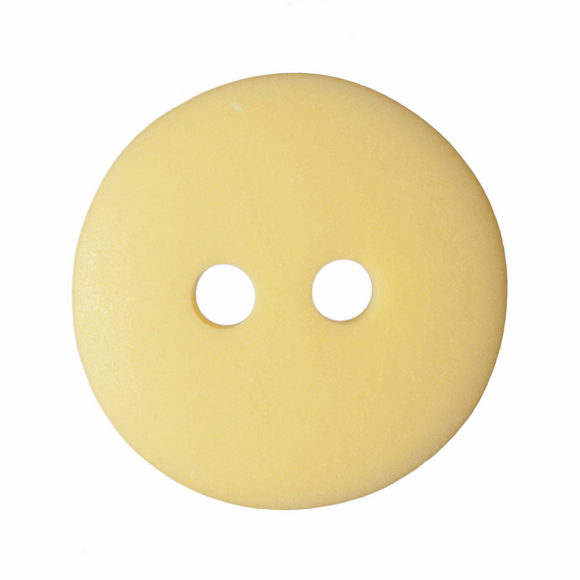 Button Matt Smartie 18mm in Yellow