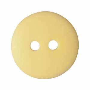 Button Matt Smartie 11mm in Yellow