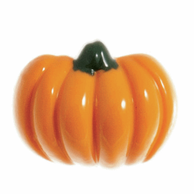 Button 18mm Halloween Pumpkin