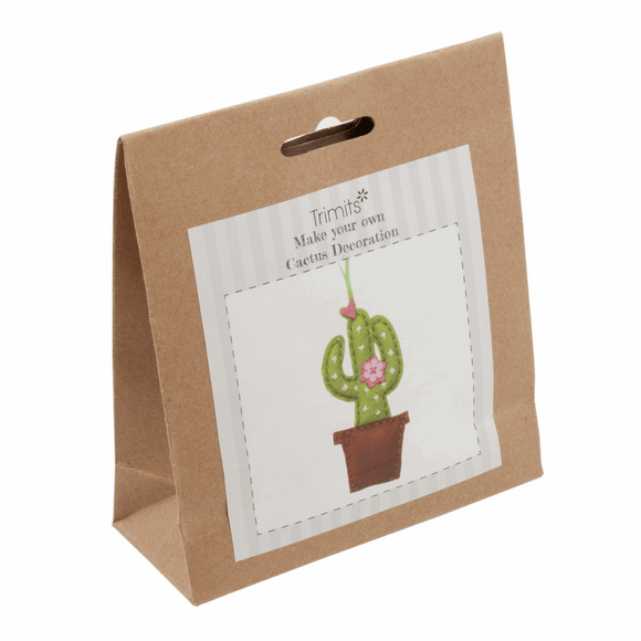 Felt Decoration Kit - Cactus