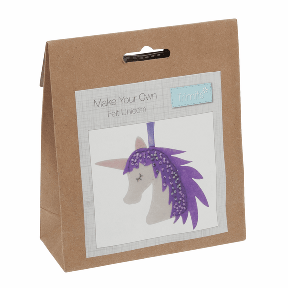 Felt Decoration Kit - Unicorn