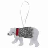 Felt Sewing Kit - Christmas Tree Decoration Polar Bear