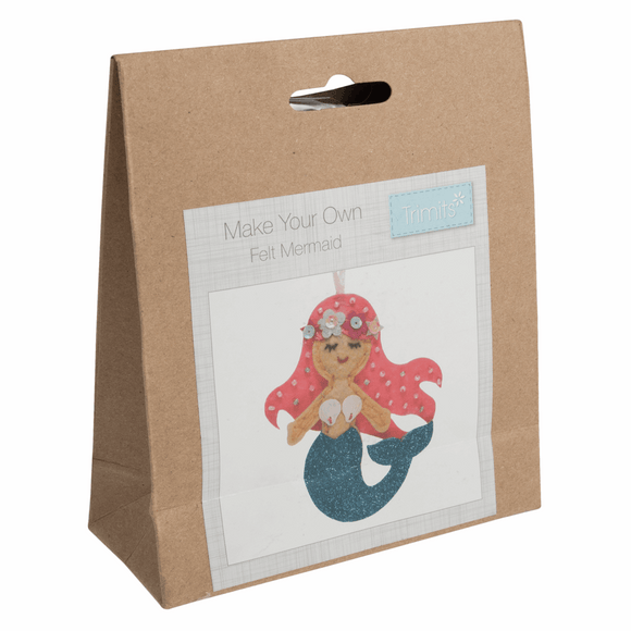 Felt Sewing Kit - Mermaid
