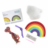 Felt Sewing Kit - Rainbow
