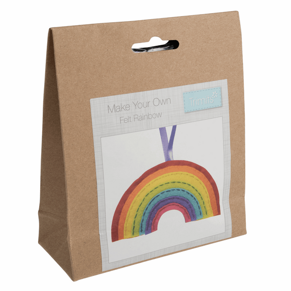 Felt Decoration Kit - Rainbow