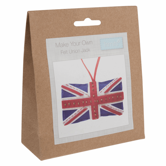 Felt Sewing Kit - Union Jack