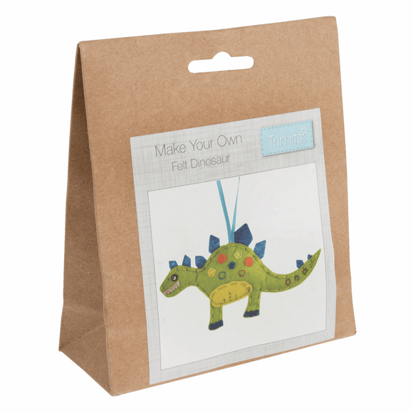 Felt Decoration Kit - Dinosaur