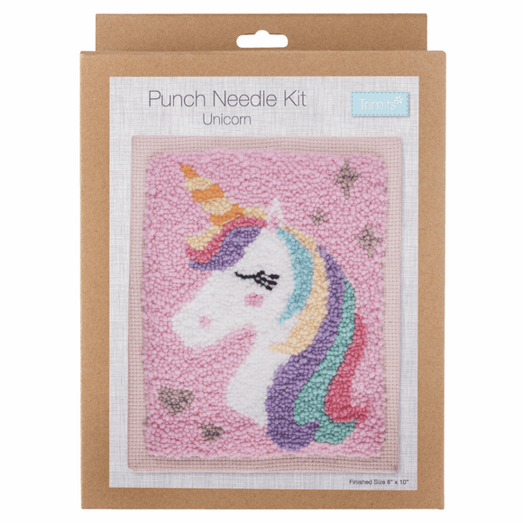Punch Needle Kit - Unicorn