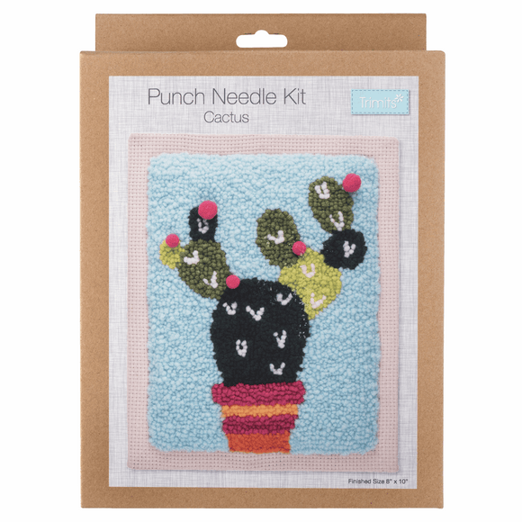 Punch Needle Kit - Cactus