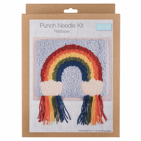 Punch Needle Kit - Rainbow