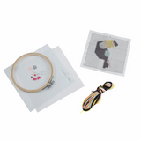 Counted Cross Stitch Kit with Hoop - Toucan