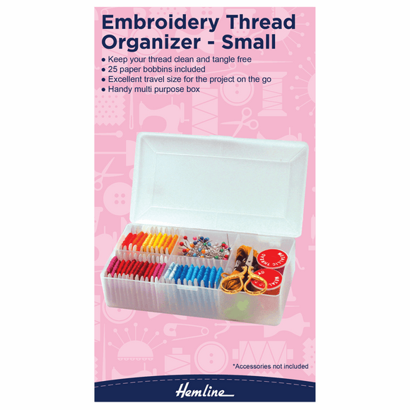 Embroidery Thread Organiser by Hemline Small