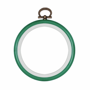 "Embroidery Hoop 7.6cm / 3"" Green"