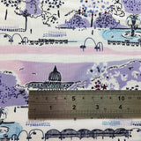 Scenic View in Lavender by Michael Miller 100% Cotton