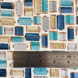 Stitch in Time Cotton Reels Blue by Makower