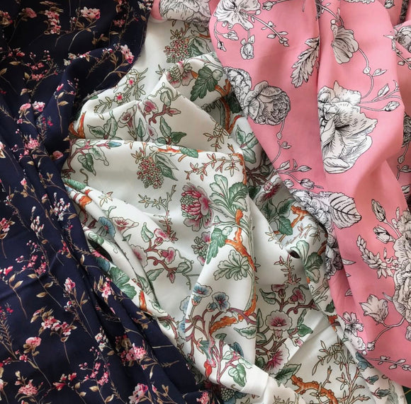 Learn to Sew with Delicate Fabrics - Thurs 27th Feb 7.30pm