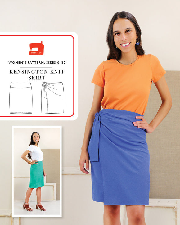 Kensington Knit Skirt by Liesl & Co