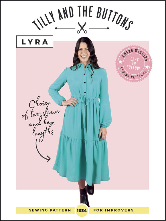 Lyra Shirt Dress by Tilly & The Buttons