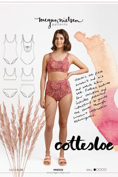 Cottesloe Swimsuit Pattern by Megan Nielsen Patterns