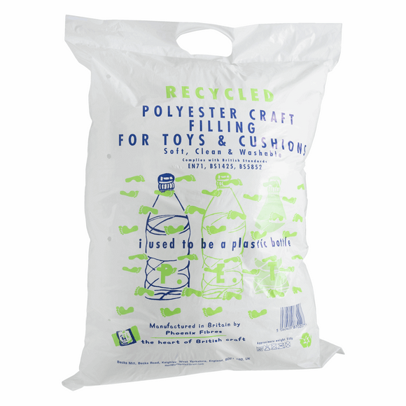 Recycled Polyester Craft Filling for Toys & Cushions 250g