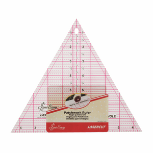 "Patchwork Template 60 degree Triangle 8"" x 9.25"""