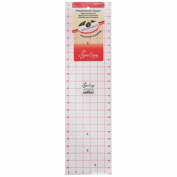 Patchwork Template Ruler 24 x 6.5