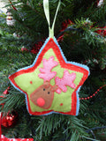 Christmas Course (Cushion, Tree Decs & Gift Bags) - 4 weeks from Fri 29th Nov 10.30am