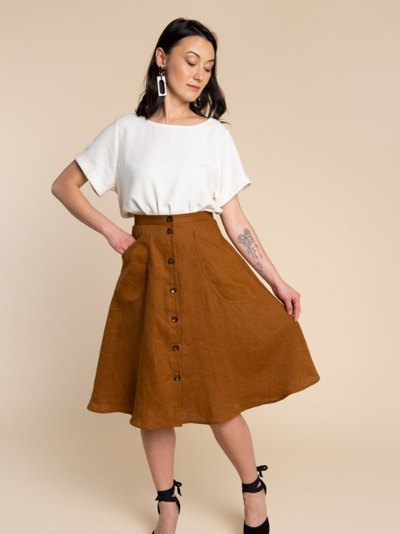 Fiore Skirt by Closet Case Patterns