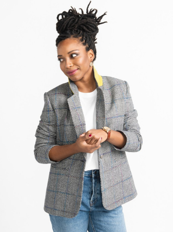 Jasika Blazer Jacket by Closet Case Patterns