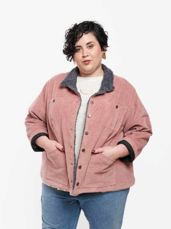 Thayer Jacket by Grainline Studio (Size US 0-18)