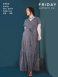 Westcliff Dress Pattern from Friday Pattern Co