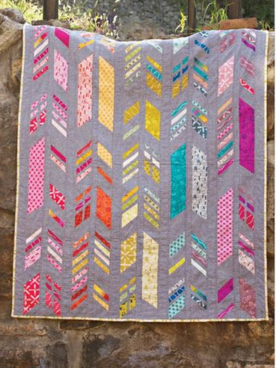 Feathers Quilt Pattern from Alison Glass