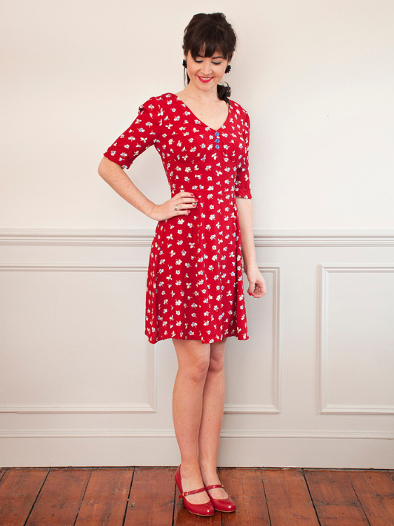 1940s Tea Dress by Sew Over It