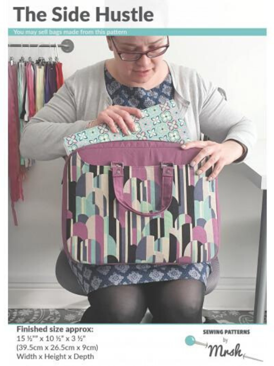 Side Hustle Bag Pattern by Mrs H