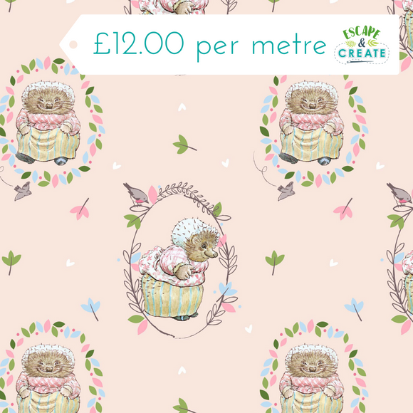 Mrs Tiggy Winkle 100% Cotton