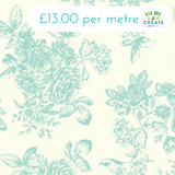 Katie Jane by Makower Toile in Blue