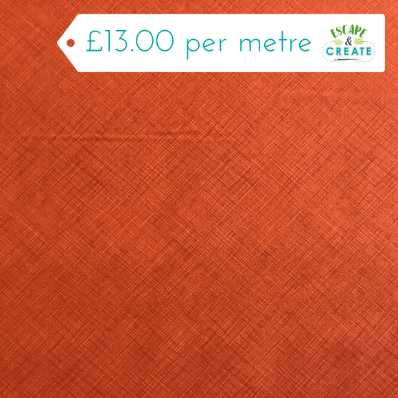 Architextures by Robert Kaufman 100% Cotton in Orangeade