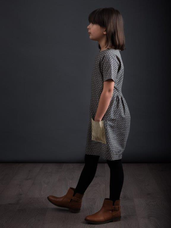 The Gathered Dress (ages 3-8 years) by The Avid Seamstress