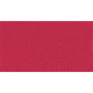 Ribbon Double Faced Satin 35mm Col 15 Red