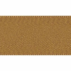Ribbon Double Faced Satin 3mm Col 20 Old Gold