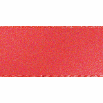 Double faced Satin Ribbon 10mm Col 22 Coral