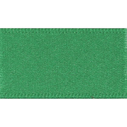 Ribbon Double Faced Satin 10mm Col 24 Bottle Green