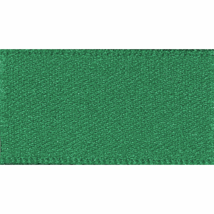 Ribbon Double Faced Satin 15mm Col 455 Hunter Green