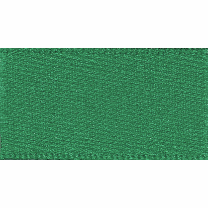 Ribbon Double Faced Satin 10mm Col 455 Hunter Green