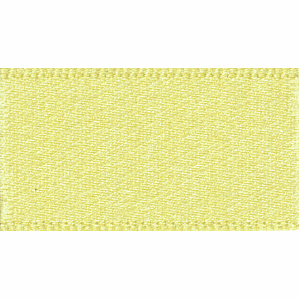Double faced Satin Ribbon 10mm Col 5 Lemon