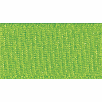 Ribbon Double Faced Satin 3mm Col 664 Meadow Green