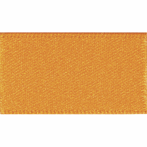 Ribbon Double Faced Satin 3mm Col 672 Marigold